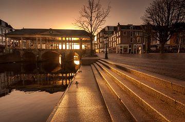 Korenbeurs Brücke in Leiden sur Martijn van der Nat