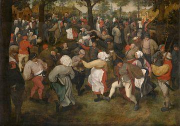De dans der bruid, Pieter Bruegel de Oude