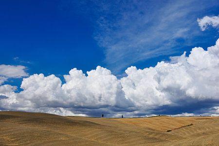 Wolkenlucht in Toscane