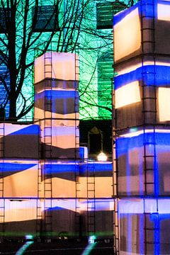 Lightboxen van Miranda Robbe