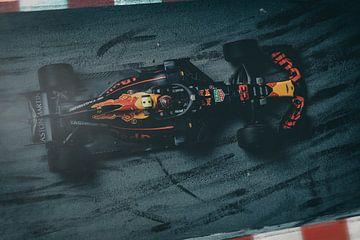 Max Verstappen - F1 RB14 Red Bull sur Kevin Baarda