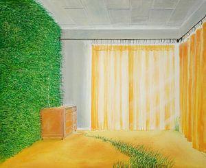Papier peint vivant
