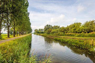Culemborgsche Vliet bij het Nederlandse dorp Acquoy van Ruud Morijn