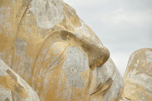 Buddha in Thailand von Ilona de Vries
