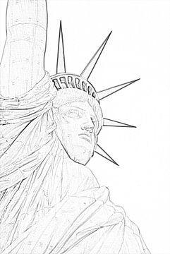 Die Freiheitsstatue erhält 2021 ihre Farbe zurück. von Be More Outdoor