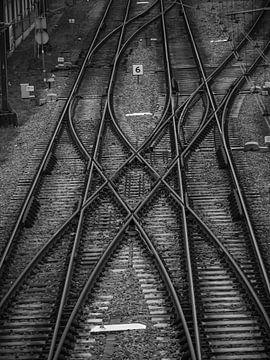 Eisenbahnlinie NS Hoorn von Martijn Tilroe