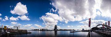 Het IJ Amsterdam panorama