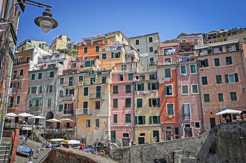 Kleurrijk Cinque Terre van
