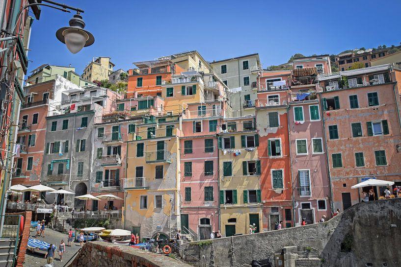 Kleurrijk Cinque Terre van Kramers Photo