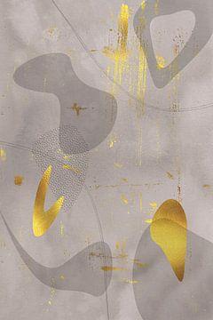Mid-Century Vintage Nr. 4 | gold-braun von Melanie Viola