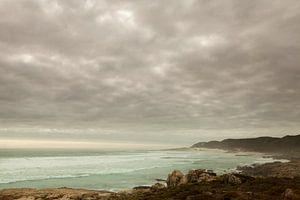 Kustlandschap vlakbij Kaap de Goede Hoop
