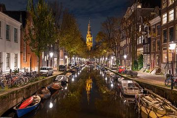 De lichtjes branden in Amsterdam van Peter Bartelings Photography