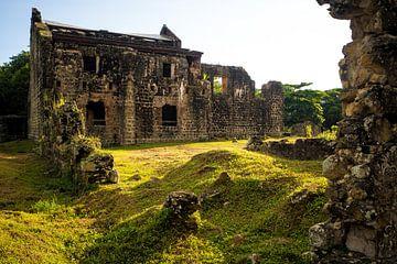 Ruine in Panama Viejo van Michiel Dros