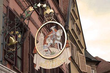 Hotel Saint Martin, Colmar von Inge Hogenbijl