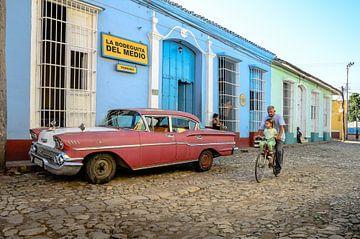 Trinidad straatbeeld von Merijn Koster