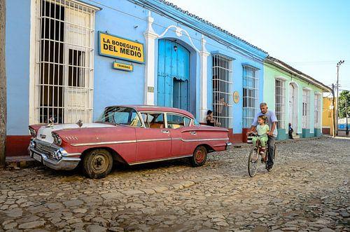 Trinidad straatbeeld van Merijn Koster