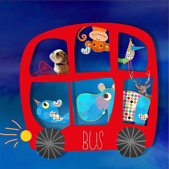 bus van Nicole Roozendaal