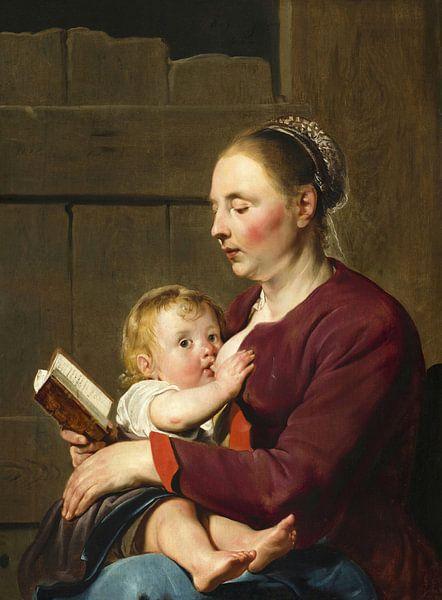 Mutter und Kind, Pieter de Grebber von Meesterlijcke Meesters