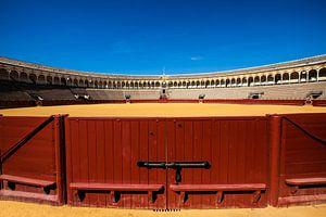 De arena voor stierengevechten in Sevilla Spanje. One2expose Wout Kok von Wout Kok
