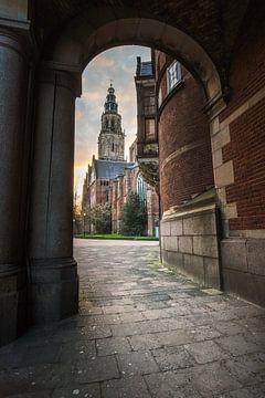Martini-Turm Groningen von Max ter Burg Fotografie