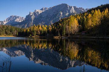 Herbststimmung am Lautersee von Monika Scheurer