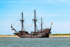 Houten piratenschip