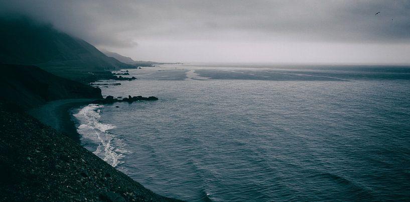 Ruige zee van Jip van Bodegom