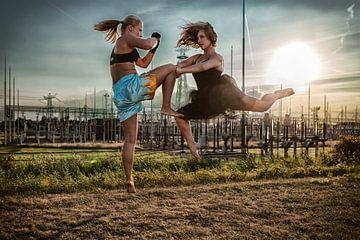 Kickboxer vs. Ballerina van