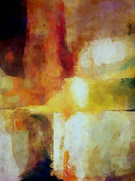 Abstrakte Komposition 1216 von Angel Estevez