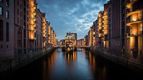 Hamburg Speicherstadt van