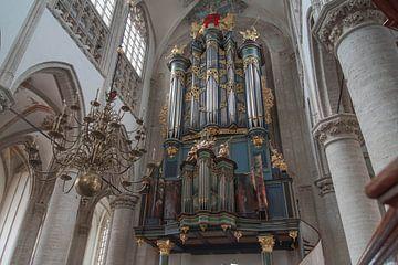 Flentrop-Orgel, Grote Kerk von Breda von Rossum-Fotografie