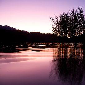 Lago de Levico Terme Sunset sur Alex Sievers