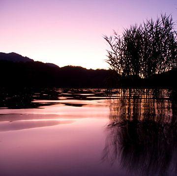 Lago de Levico Terme Sunset von