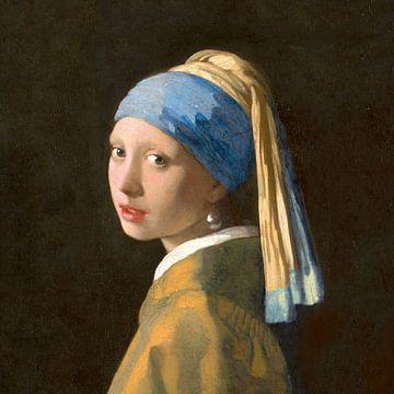 Mädchen mit dem Perlenquadrat - Johannes Vermeer