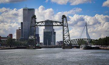 Die Hefbrug über die Maas in Rotterdam von Jan Kranendonk