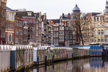 Amsterdam Bloemenmarkt sur Sjoerd Tullenaar