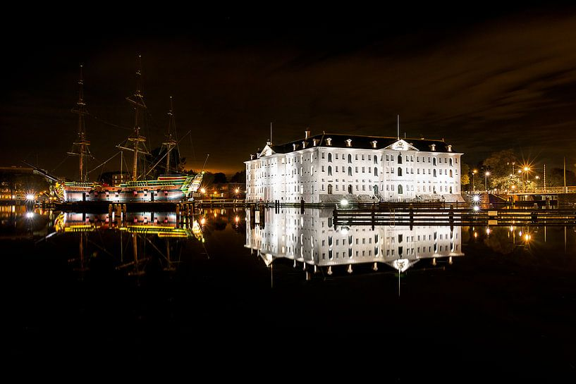Nederlands Scheepvaartmuseum Amsterdam en VOC van Madan Raj Rajagopal