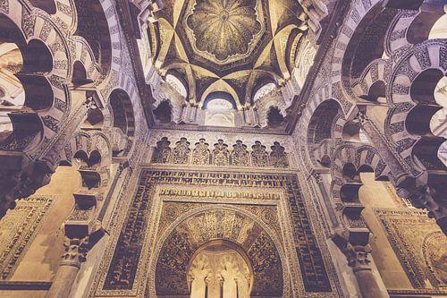 De Mirab van de Mezquita in Cordoba, Spain
