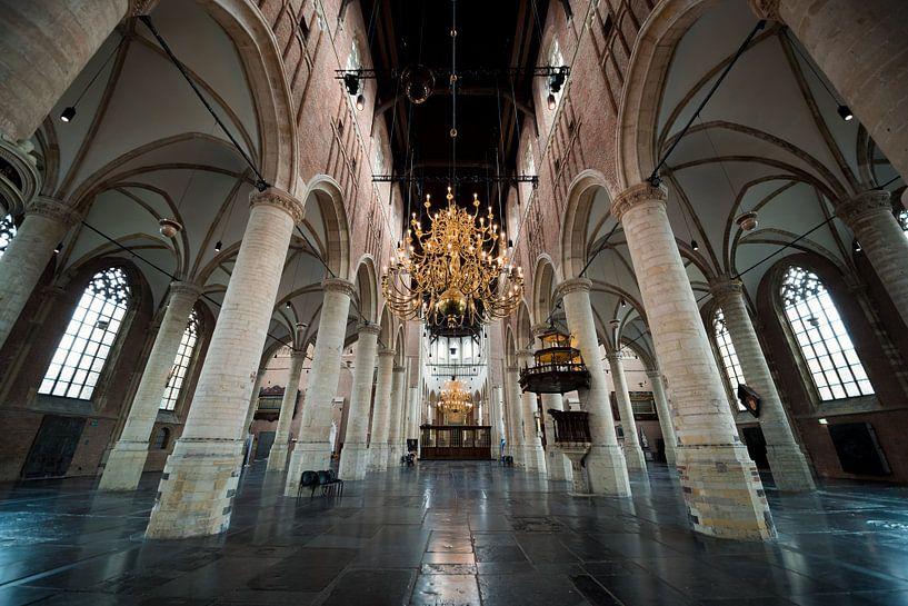 Pieterskerk Leiden van Jeffrey de Graaf
