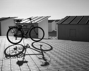 Belgische fiets aan zee van celine bg