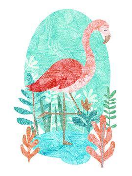 Flamingo von Goed Blauw