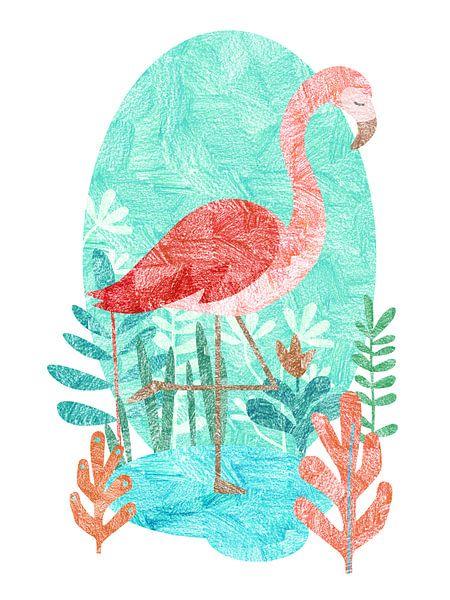 Flamingo van Goed Blauw