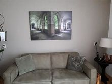 Kundenfoto: Grüner Korridor von Perry Wiertz, auf leinwand
