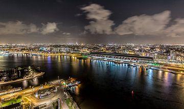 On top of Amsterdam, uitzicht vanaf A'DAM toren sur Renzo Gerritsen