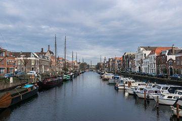 Mooi historisch Delfshaven in Rotterdam