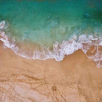 Fußspuren im Sand von Maurice Dawson