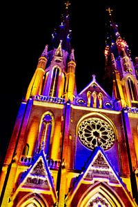 Verlichte Kerk van