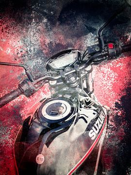 Bike art (4) van Lis Fotografie
