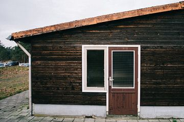 Alten Gebäude auf dem Gelände des ehemaligen Funk Kootwijk von Rob Veldman