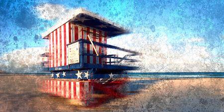 Digital-Art Miami Beach Watchtower